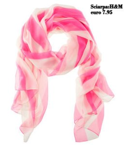 sciarpa pink